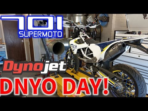 Husqvarna 701 Dyno Tuning And Results! New Tekmo Header And DNA Intake Mods!!