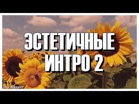 ЭСТЕТИЧНЫЕ ИНТРО БЕЗ ТЕКСТА // ЧАСТЬ 2 // SAY BLOGGER //