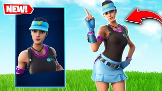 *NEW* Volley Girl Fortnite Skin GAMEPLAY | Fortnite Battle Royale (Season 7)