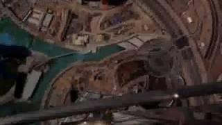 View from Burj Khalifa Floor 160 January 2009