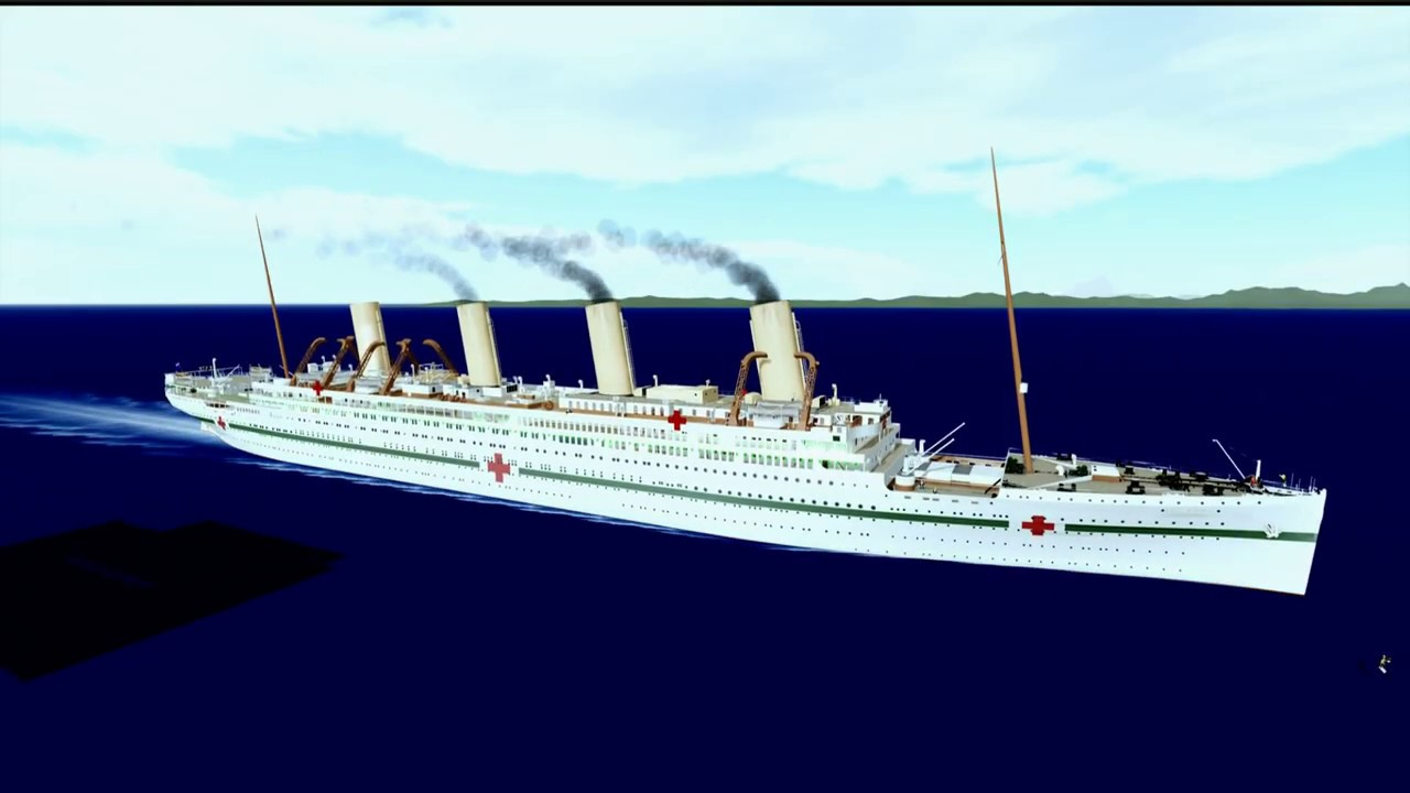 Roblox Britannic Sinking Timelapse Youtube