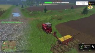 Стрим:Farming Simulator-2015.Первая серия карта:Синява-3.7v.15.04.2017г.