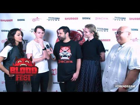 SXSW 2018 Interview Seychelle Gabriel, Robbie Kay, Barbara Dunkelman, Jacob Batalon - Blood Fest