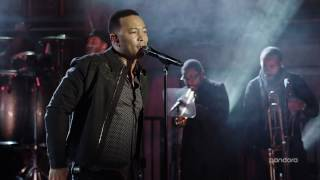 "John Legend - ""What You Do To Me"" Live from Pandora"