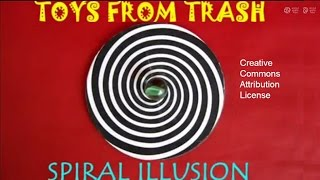 SPIRAL ILLUSION - TAMIL - Amazing Spinner, Beautiful Illusion!