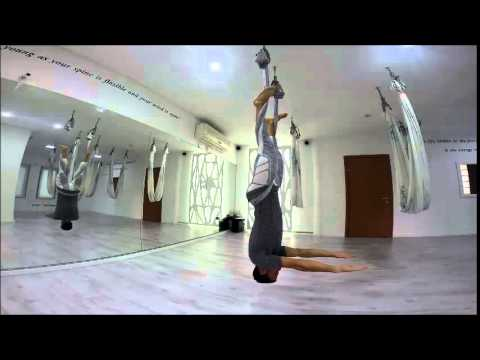 antigravity yoga , aerial yoga , christopher harrison