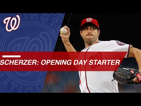 Max Scherzer ready to take the mound on Opening Day!