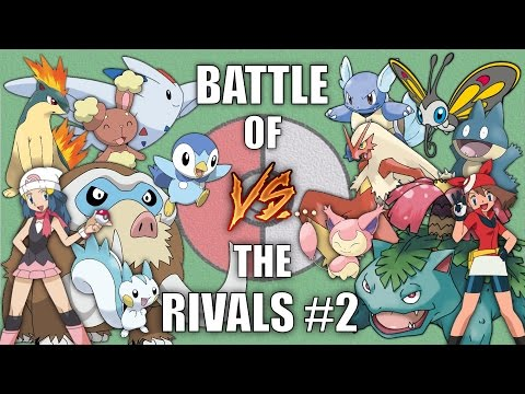 Battle of the Rivals #2 (Dawn vs May) - Pokemon Battle Revolution (1080p 60fps)