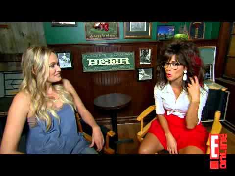 Nicole Scherzinger - Interview 2 on set of ''How I Met Your Mother''