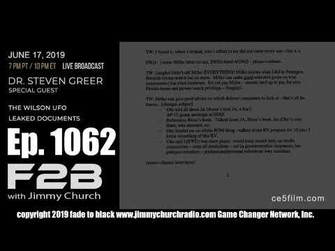 BREAKING: Dr. Steven Greer speaks on the Davis/Wilson UFO Document Leak