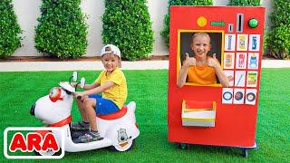 آلة بيع فلاد ونيكيتا الجزء الثاني من قصة لعبة أطفال