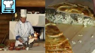 Курник. Как приготовить традиционный праздничный пирог? Русская кухня. Рецепт ТВ