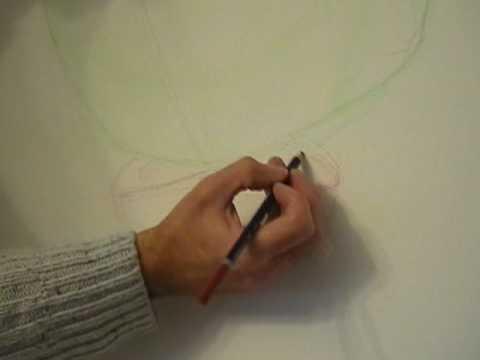 tutoriel peinture huile - préparation dessin