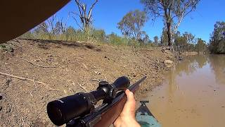 Best clips from the kayak over the last few hunts.