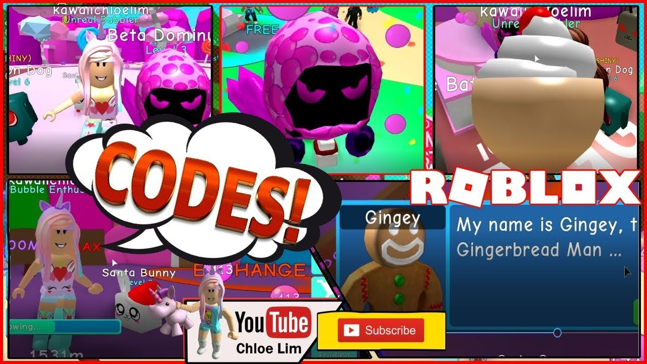 Roblox Bubble Gum Simulator Gameplay! FREE DOMINUS PET! 6