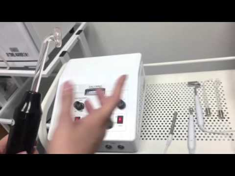How To Use Galvanic And High Frequency Unit