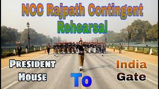 NCC Rajpath Contingent Practice