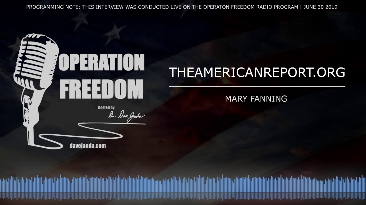 Operation Freedom Illegal Surveillance of President Trump: Not If But How - w/ Mary Fanning