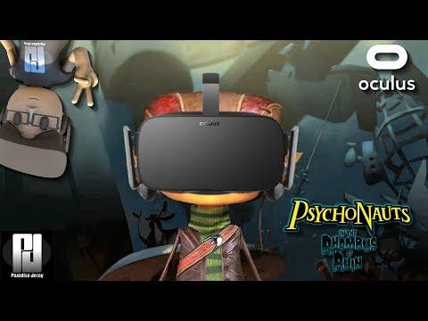 PSYCHONAUTS 1.5 VR IMPRESSIONS // Oculus + Touch // GTX 1060 (6GB)