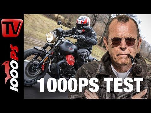 1000PS Test - Moto Guzzi V7 III Sondermodelle 2018 - Carbon, Milano, Rough