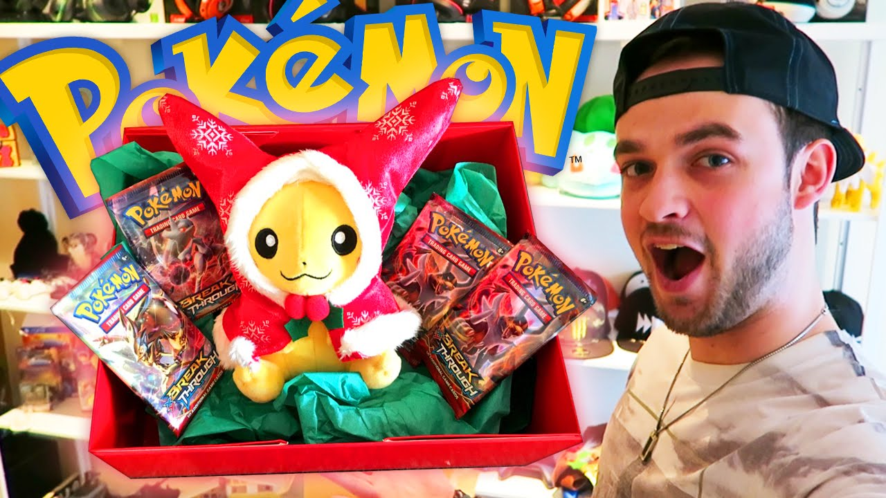 Pokemon Christmas.Pokemon Christmas Unboxing