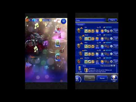 FFRK - Guardian of the Dawn (Apocalypse +) Cid Mission Style