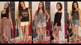 Outfits of the Week: June 24-28