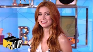 Katherine McNamara Sees How Well She Knows Her 'Shadowhunters' Co-Stars | TRL