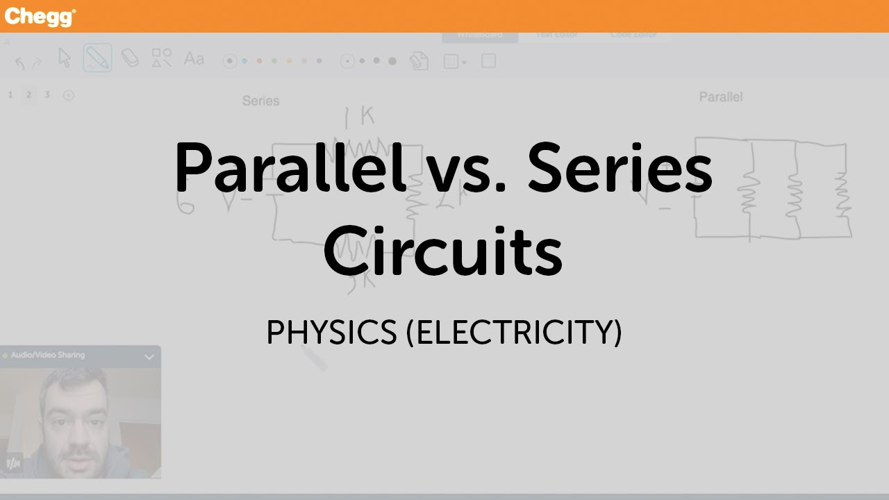 Parallel vs  Series Circuits | Physics (Electricity) | Chegg Tutors