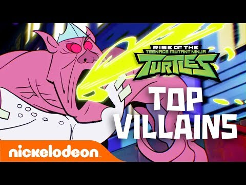 Top 11 VILLAIN Moments from Rise of the TMNT