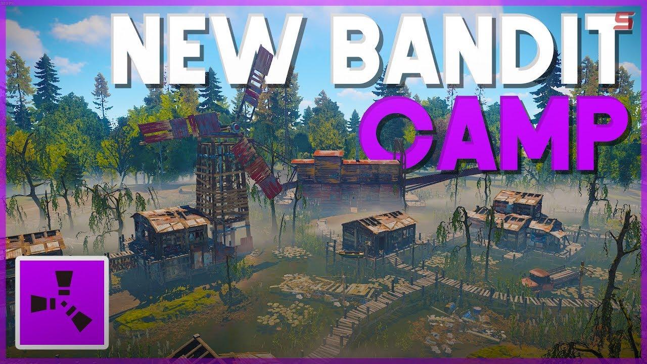 RUST | NEW BANDIT CAMP MONUMENT | Rust Update!