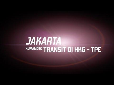 Cara Transit/Transfer di Hongkong dan Taoyuan Int. Airport (Jakarta - Kumamoto)