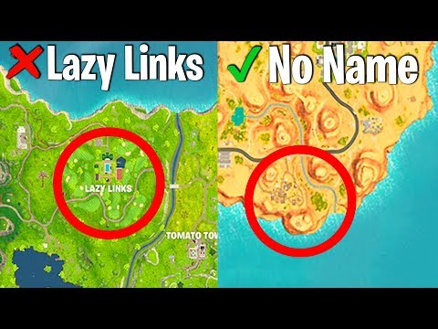 RANKING EVERY NEW FORTNITE LOCATION FROM WORST TO BEST (season5 locations)