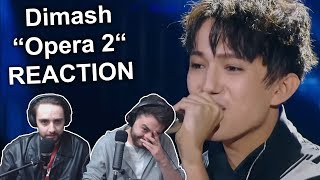 """Singers Reaction/Review to """"Dimash - Opera 2 (Ep.2)"""""""