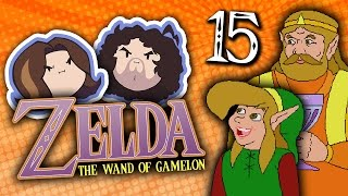Zelda The Wand of Gamelon: Butthole Caverns - PART 15 - Game Grumps