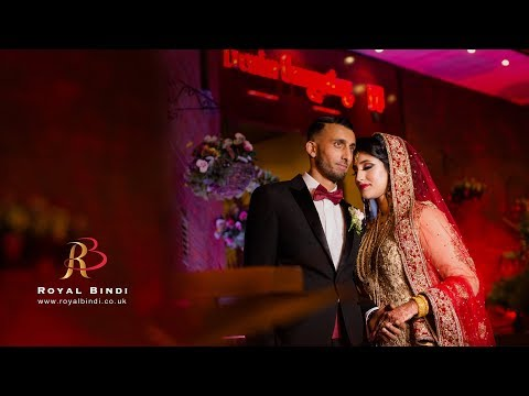 Imran & Saliha Wedding Highlight I Asian Wedding Video I Premier Banqueting London