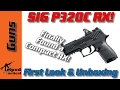 Sig P320C RX - All that RX Goodness in the Compact Size! P320RX Compact! Unboxing