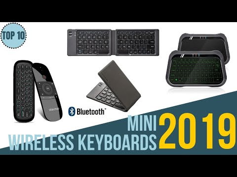 Top 10: Best Mini Wireless Keyboards 2019 / Android Tv Box / PC / MAC / PS4 / Xbox / Tablets