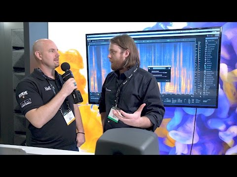 Izotope RX6 - Newsshooter at NAB 2017