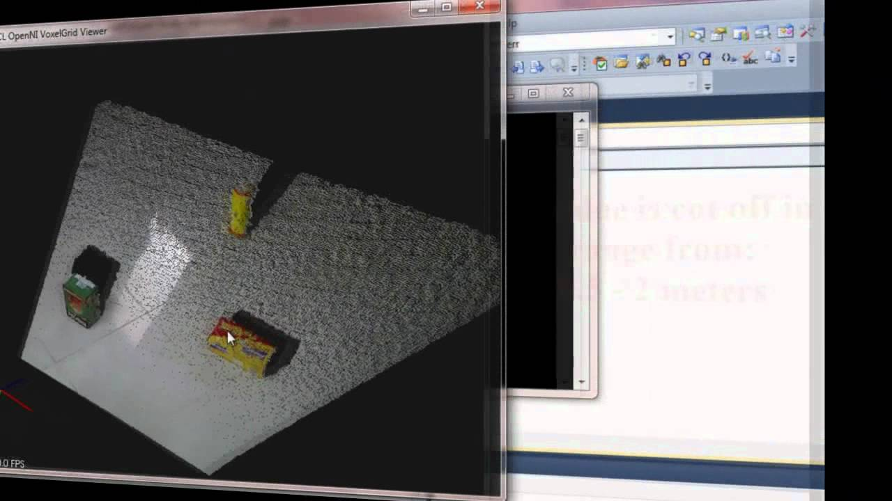 Obstacle detection using Point Cloud Library