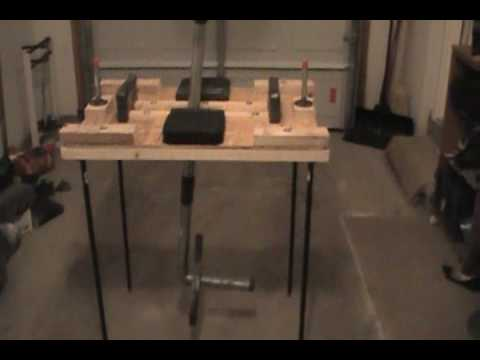 Armwrestling Table - YouTube