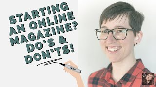 Start & Manage an Online Magazine (w/ Colleen Burner of SHIRLEY MAGAZINE) #publish #editors