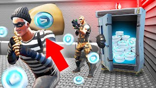 ROBBING A BANK In FORTNITE! (4,000,000 V-BUCKS)