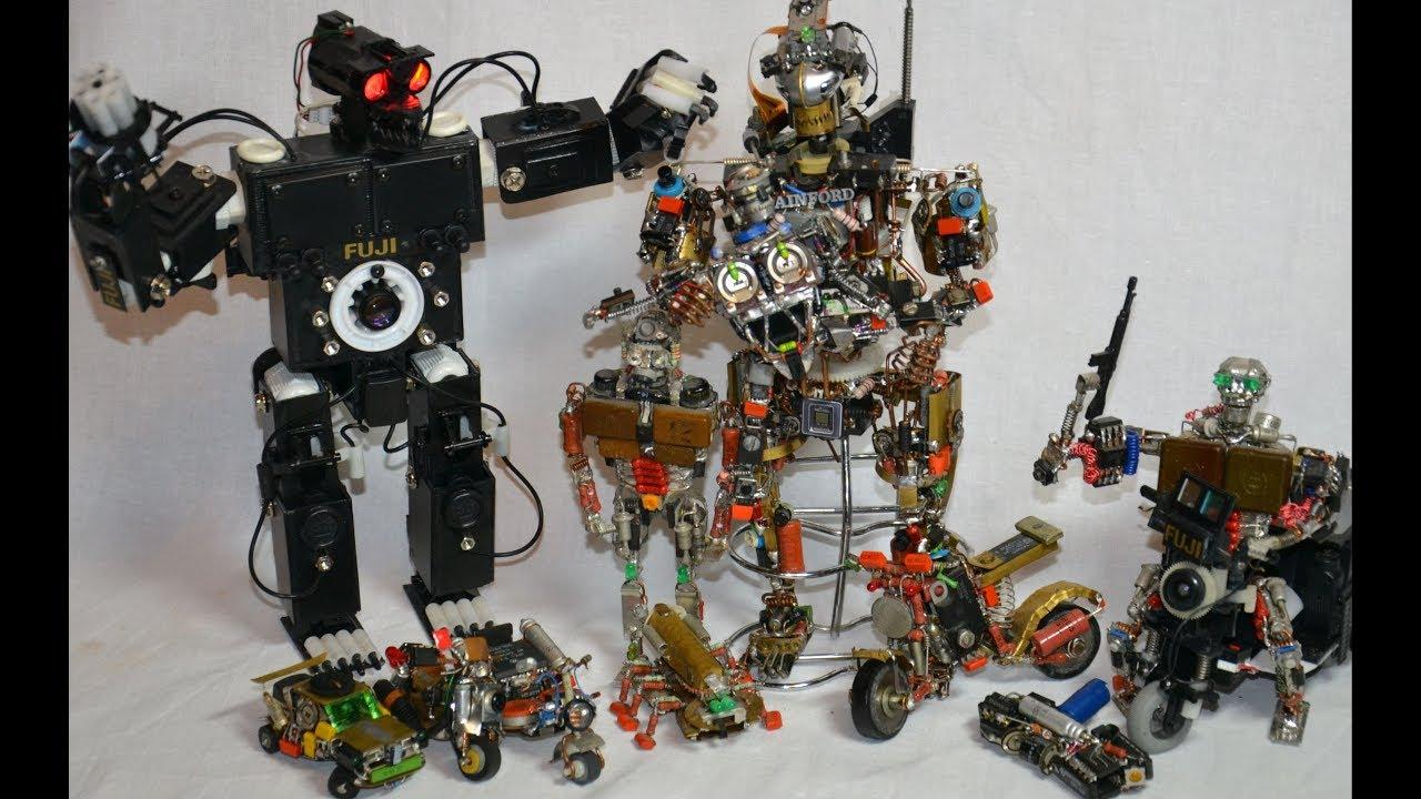 Машинки-роботы своими руками фото 434