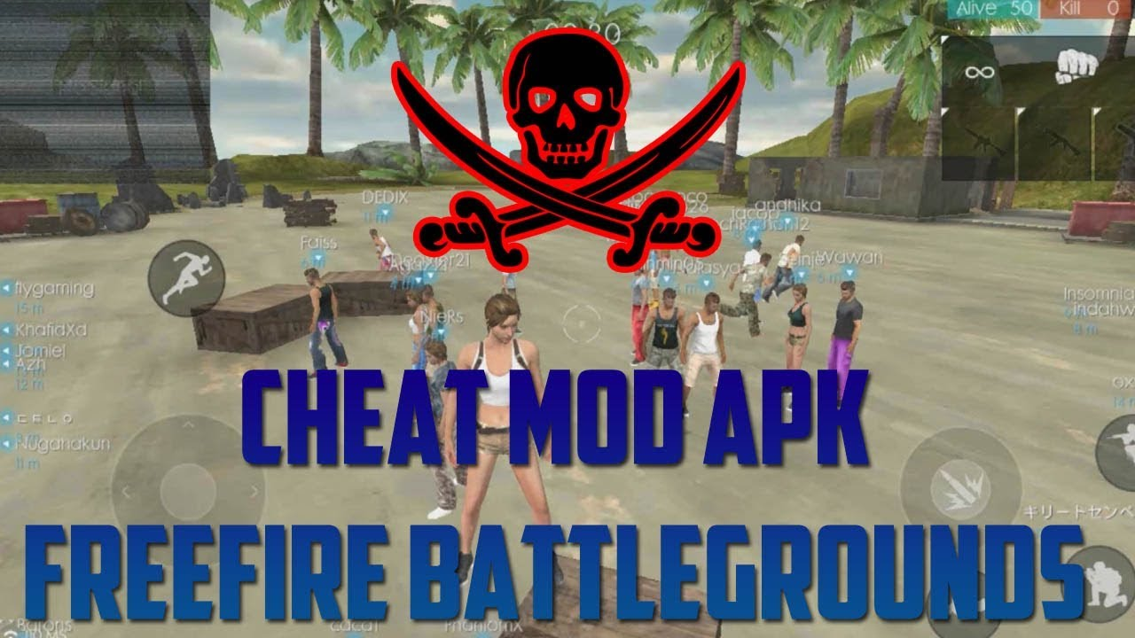 Jangan Dicoba AutoBanned!! Cheat Mod APK Free Fire Battlegrounds Indonesia HD  #Smartphone #Android