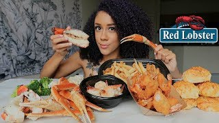 Red Lobster MUKBANG Ultimate Seafood Feast