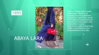 ANNAH HARIRI ABAYA Dress Collection