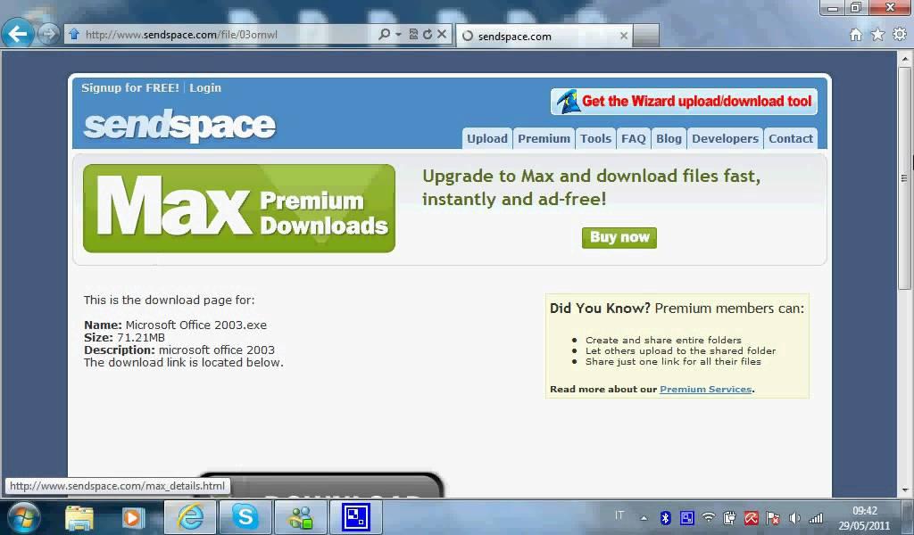scaricare gratis microsoft office 2010 italiano per windows 7