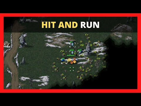 """""""Hit and Run"""" (1vs1) Command and Conquer Remastered Collection 