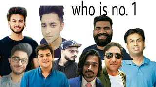 Top 5 Indian YouTubers 2018 || BB ki Vines,CarryMinati,Harshbeniwal,Amit bhadana,Elvish Yadav ??